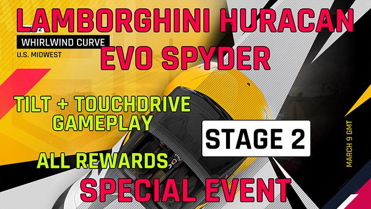 Lamborghini Huracan Evo Spyder Fase do Evento Especial feat feat 2