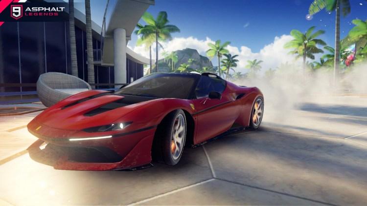 asfalto 9 Ferrari J 50 Gallery2