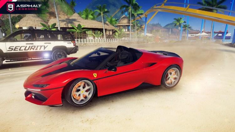 アスファルト9 Ferrari J 50ギャラリー6