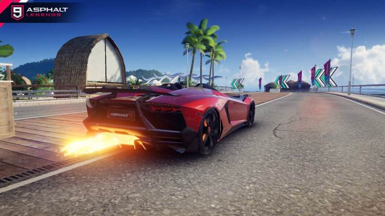 Lamborghini Aventador J 갤러리 2 Asphalt 9 Legends