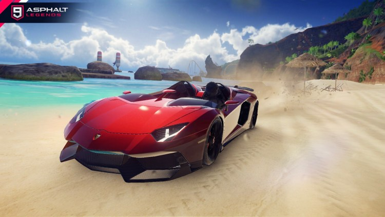 Lamborghini Авентадор J Галерея6 Asphalt 9 Legends