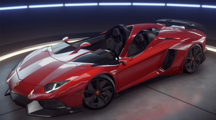 Lamborghini Aventador J Asphalt 9 Legends Database