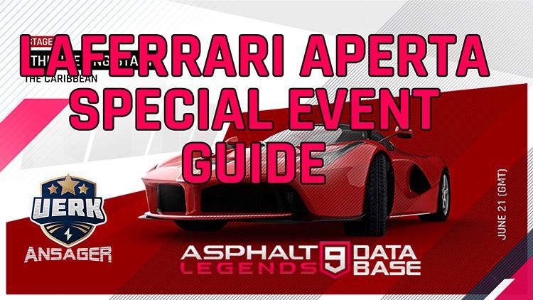 asphalt 9 ferrari laferrari special event guide