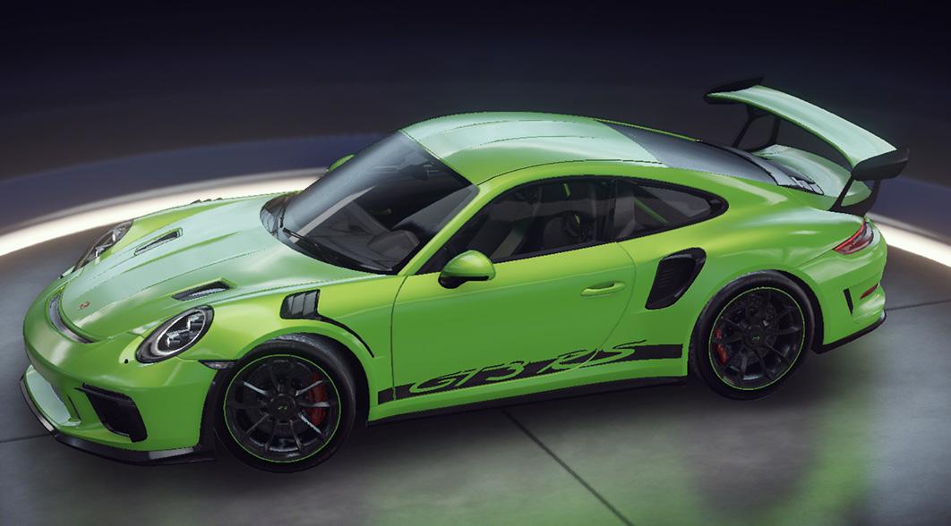 아스팔트 9 Porsche 911 GT3 RS