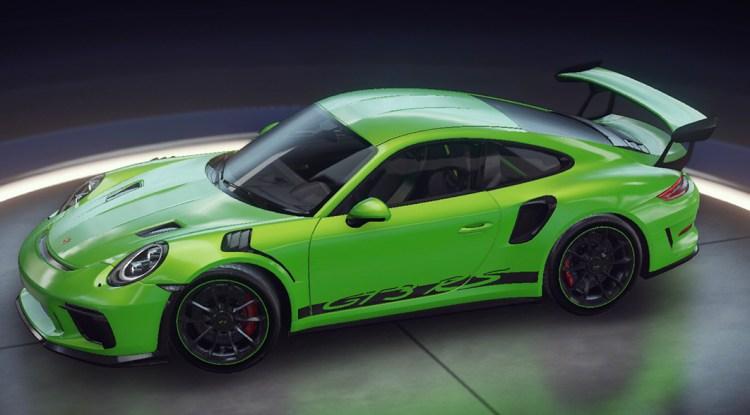 Asphalte 9 Porsche 911 GT3 RS