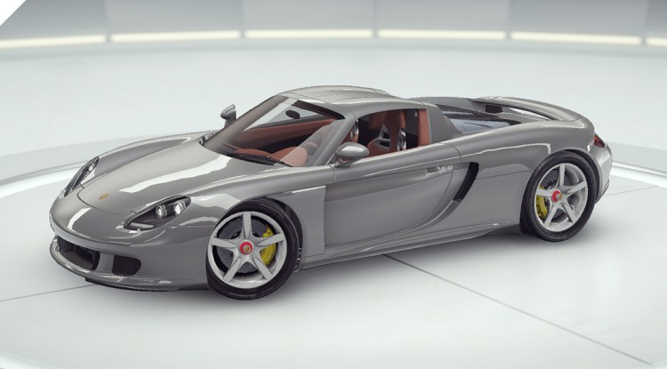 9 asphalte Porsche Carrera GT