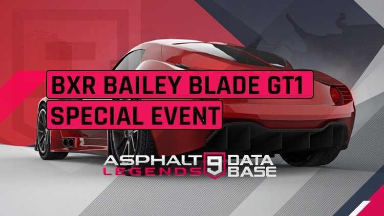 BXR Bailey Blade GT1 Special Event