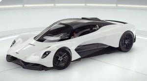 Aston Martin 발할라 컨셉 카