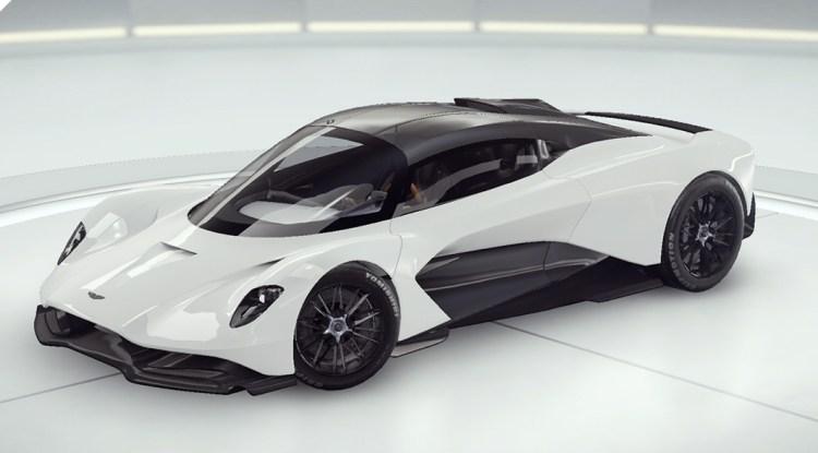 Aston Martin Voiture concept Valhalla