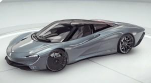 Асфальт 9 McLaren Speedtail