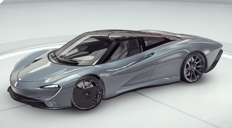 Асфальт 9 McLaren Speedtail