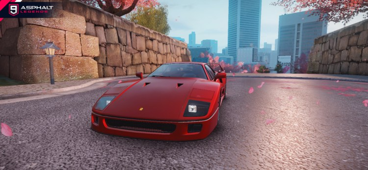 Asphalt 9 Legends Ferrari F40 Gallery_4