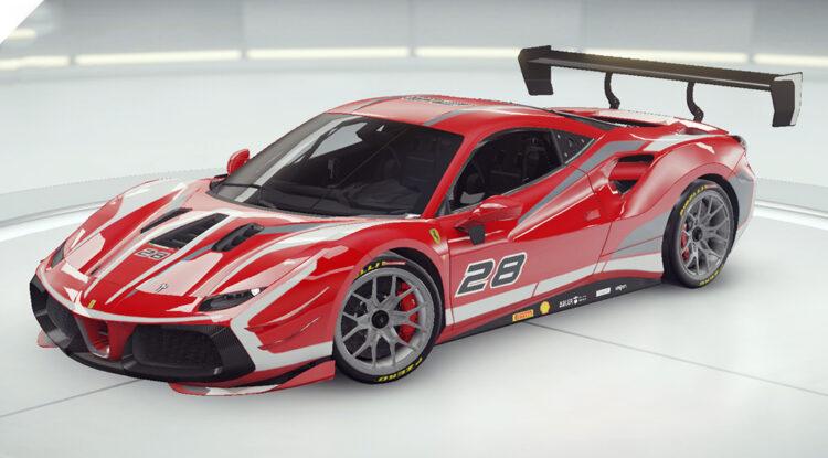 Asphalt 9 Ferrari 488 GTB Challenge Evo