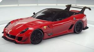 Асфальт 9 Ferrari 599XX Evo
