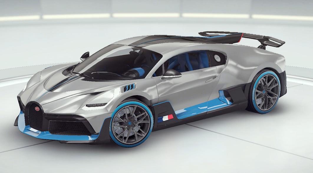 Асфальт 9 Bugatti Divo