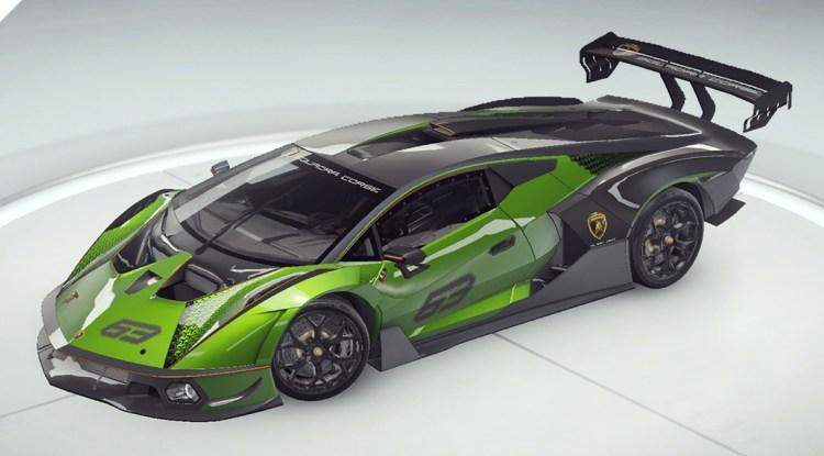 Асфальт 9 Lamborghini Сущность SCV12