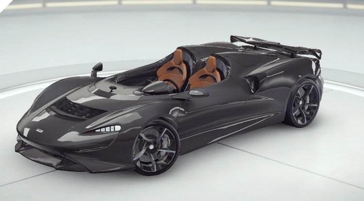 Asphalte 9 McLaren Onze
