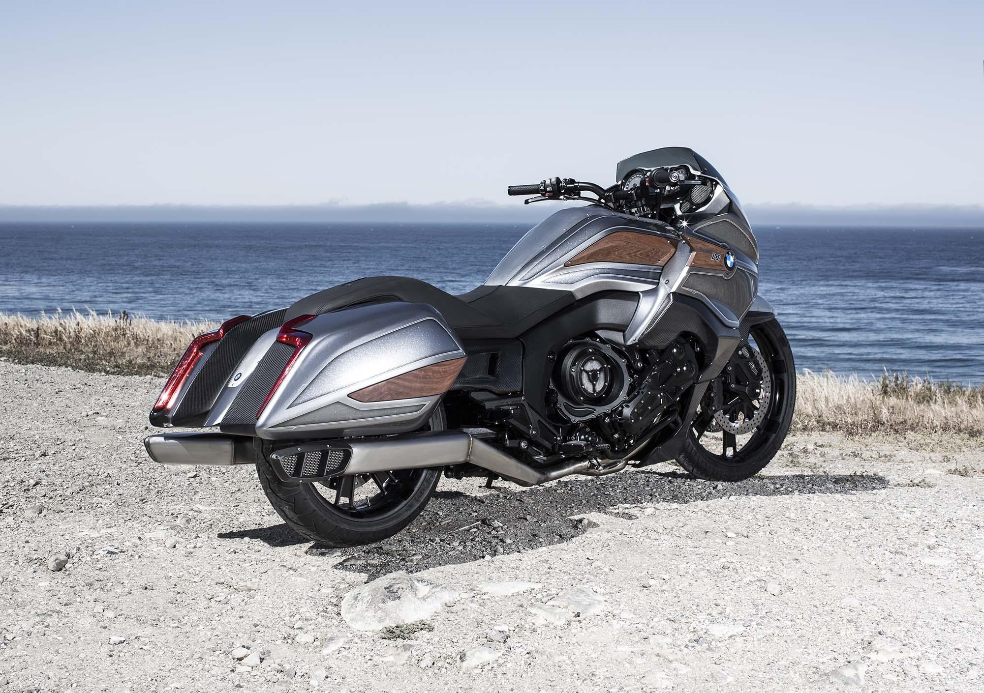 BMW Motorrad Concept 101 - Six Cylinders of Bagger - Asphalt & Rubber