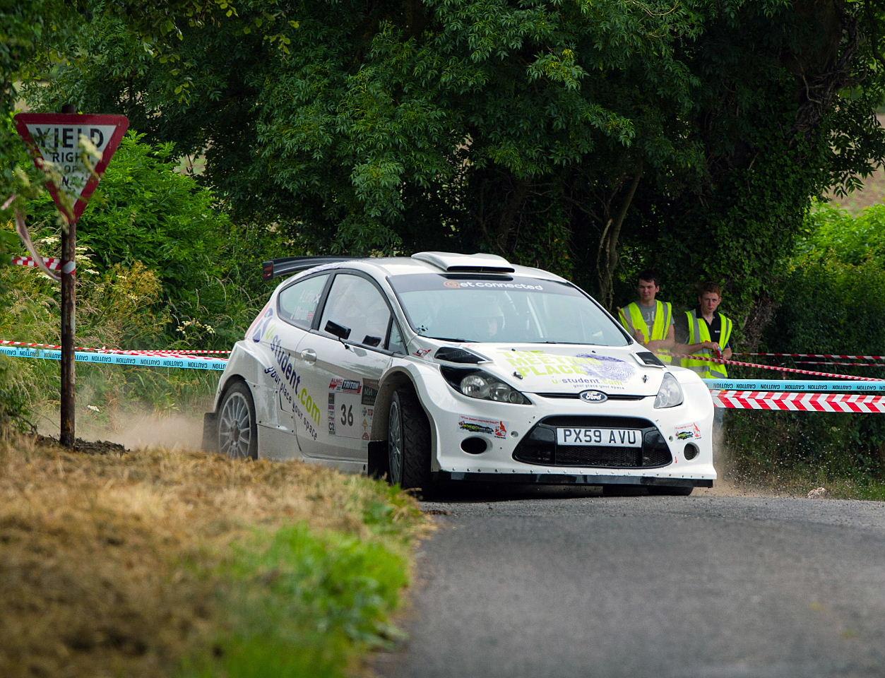 Alex Laffey & Jack Morton Ford Fiesta S2000