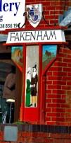The Fakenham Sign