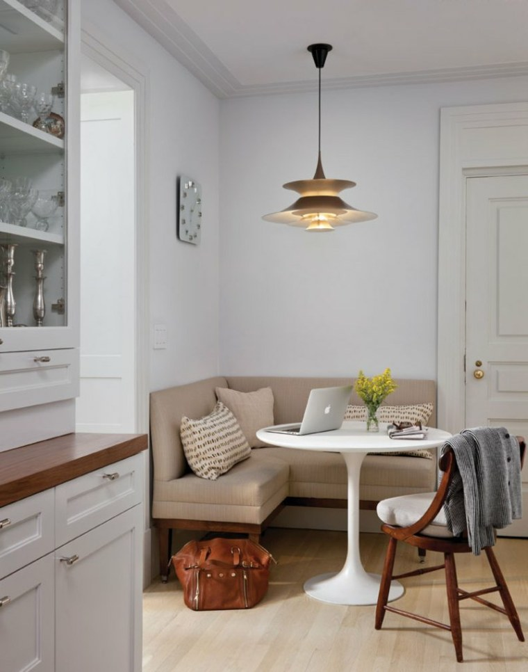 warm and modern dining area how to