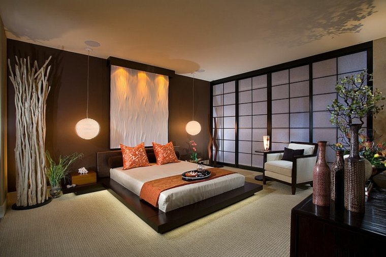 asian and zen room for an easy and