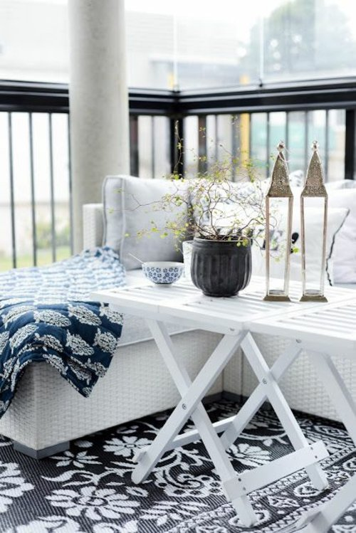 Scandinavian Decor The Nordic Charming Terrace Paintonline Info