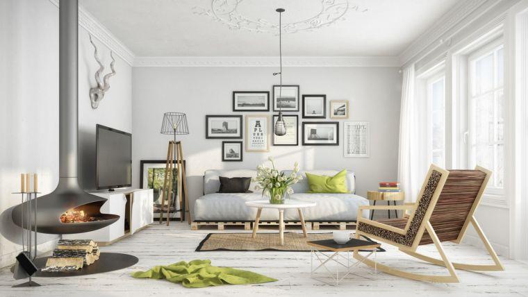 design ideas for warm living room decor