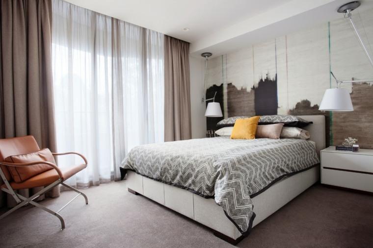double curtains modern ideas for