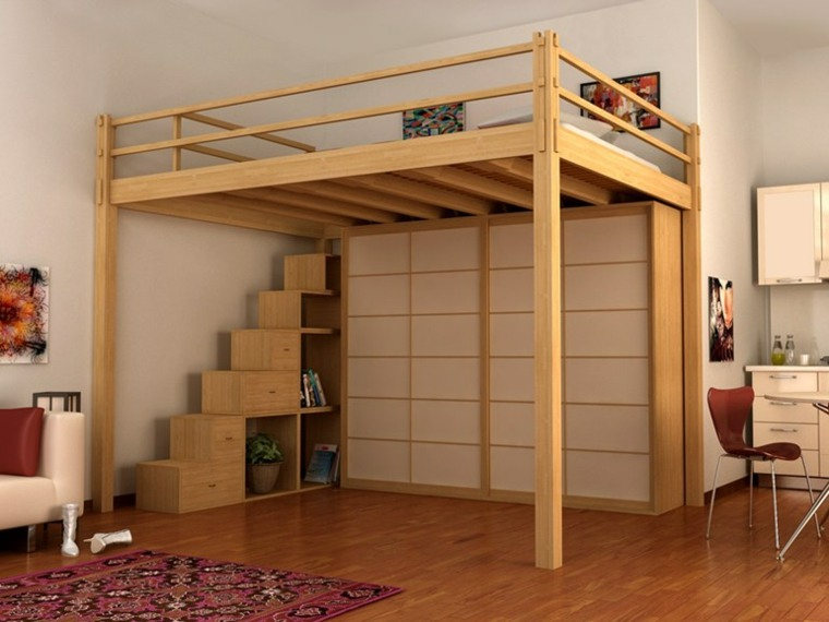 Adult Loft Bed And Small Spaces A Spicy Boy