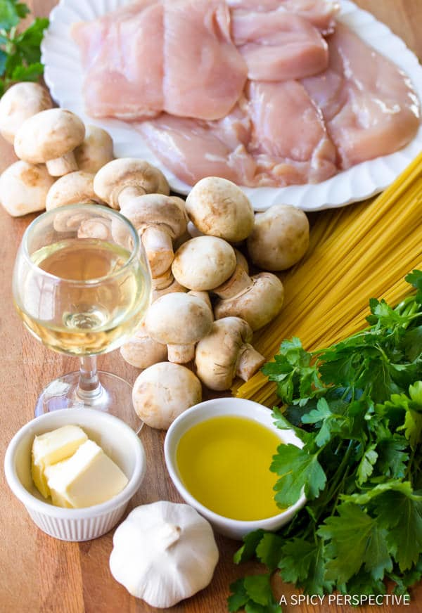 Amazing Easy Chicken Cacciatore Recipe | ASpicyPerspective.com