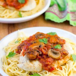 Easy Chicken Cacciatore Recipe | ASpicyPerspective.com
