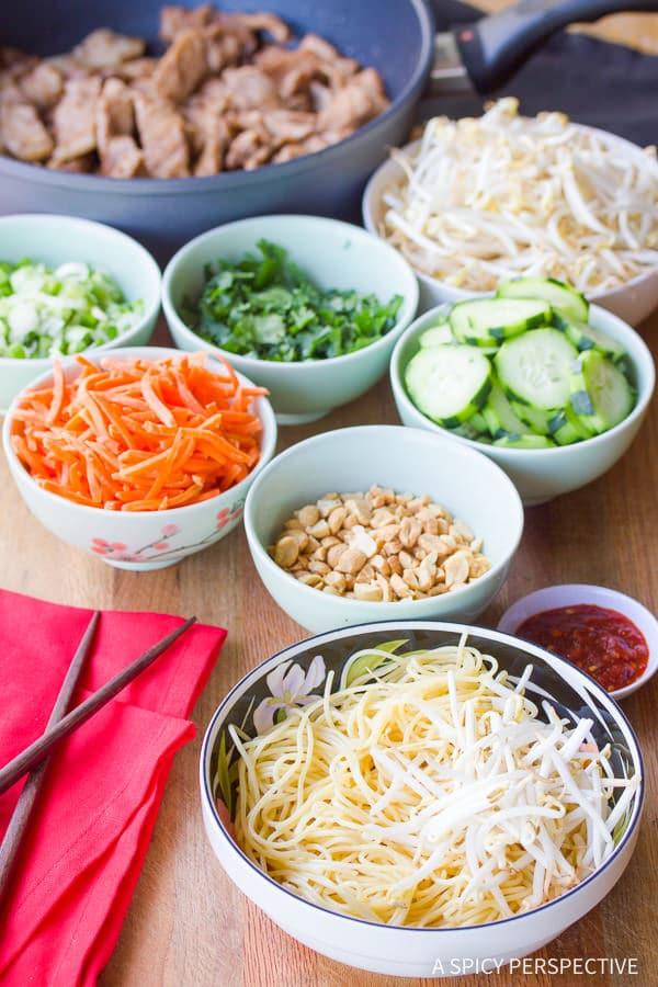 Bun Cha Gio #ASpicyPerspective #BunCha #ChaGio #BunChaGio #BunChaRecipe #Vietnamese #SaladBowl