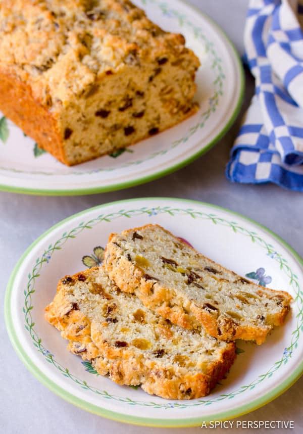 Heavenly Sweet Irish Soda Bread | ASpicyPerspective.com