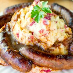 Bangers and Mash Recipe #saintpatricksday