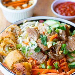Vietnamese Bun Cha Gio Recipe   ASpicyPerspective.com