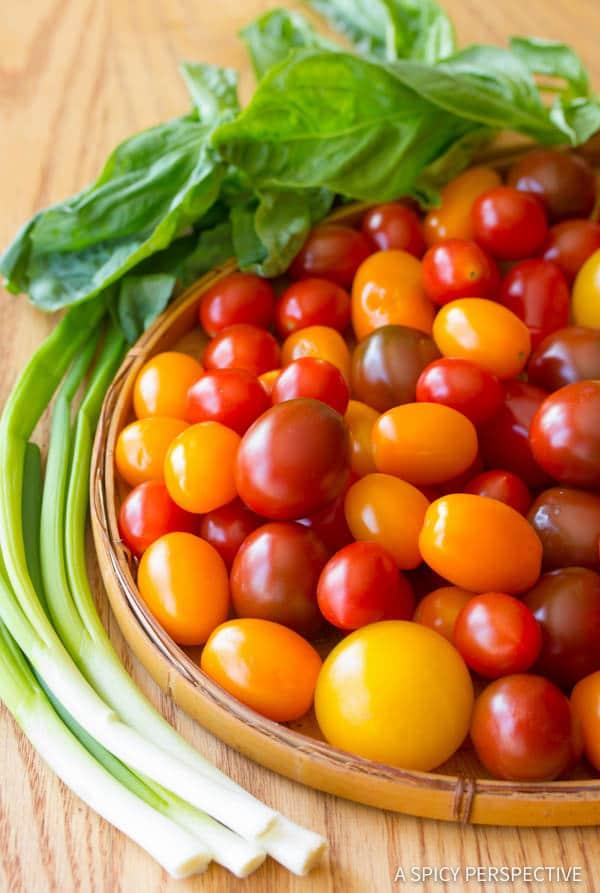 Best Fresh Tomato Tart Recipe   ASpicyPerspective.com