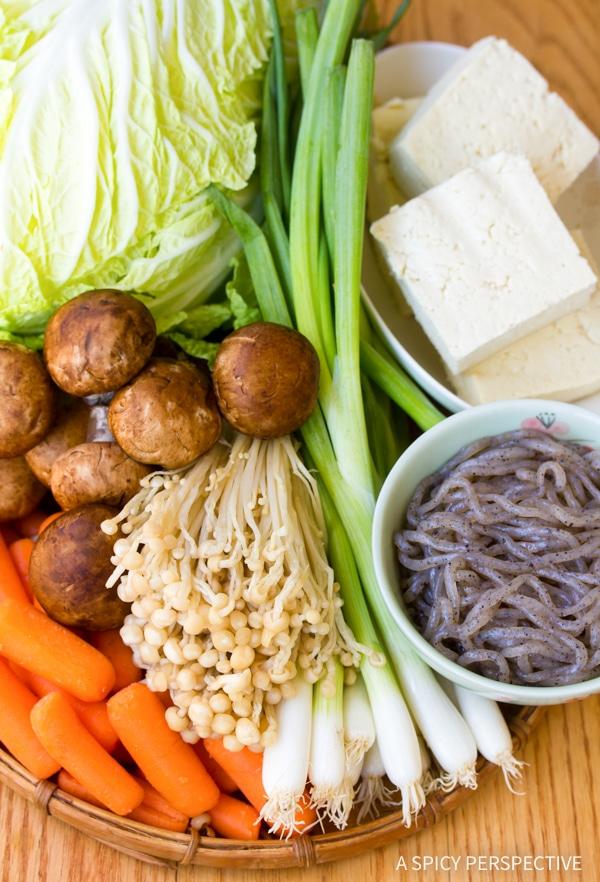 Authentic Pork Sukiyaki Recipe #healthy #lowcarb #glutenfree