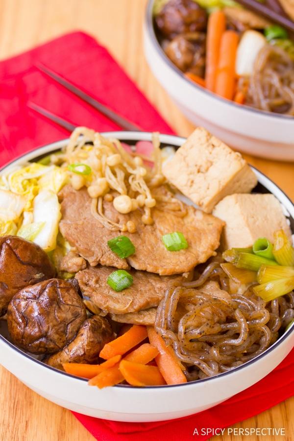 Awesome Pork Sukiyaki Recipe #healthy #lowcarb #glutenfree