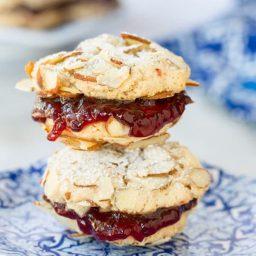 Almond Sandwich Cookies