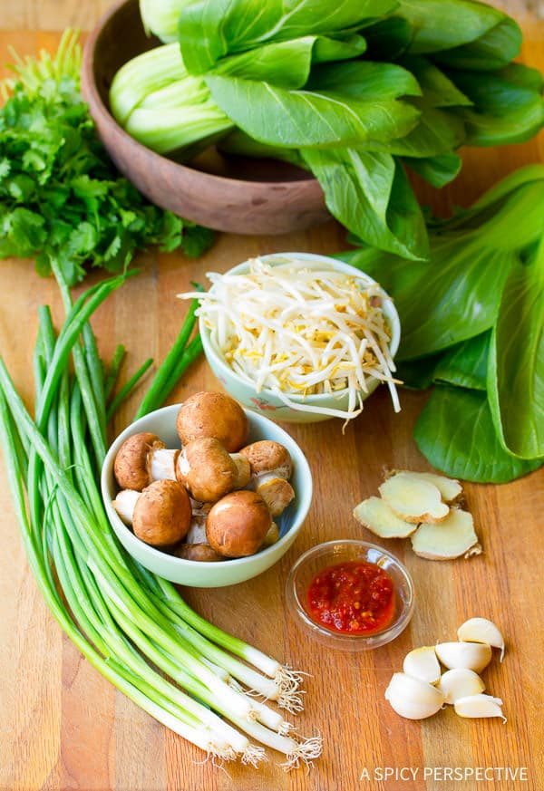 Making Healthy Chinese Hot Pot Recipe (Gluten Free) | ASpicyPerspective.com