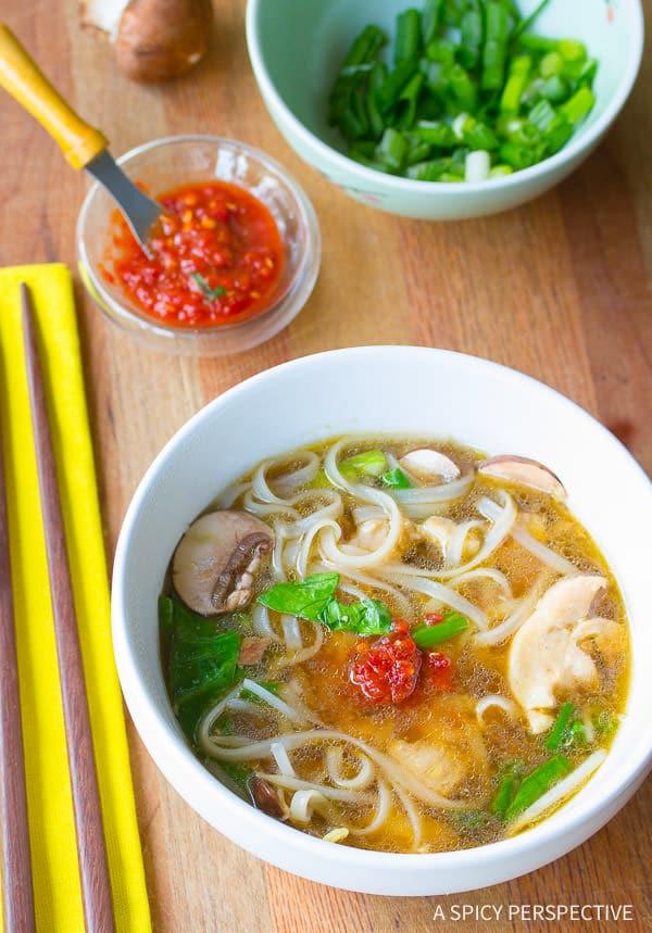 Easy Chinese Hot Pot Recipe (Gluten Free) | ASpicyPerspective.com