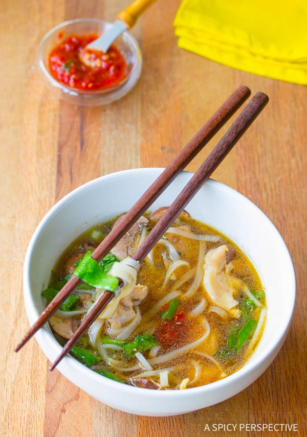 Steamy Chinese Hot Pot Recipe (Gluten Free) | ASpicyPerspective.com