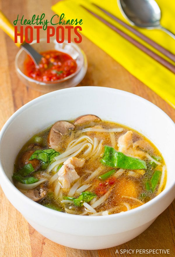 Simple Chinese Hot Pot Recipe (Gluten Free) | ASpicyPerspective.com