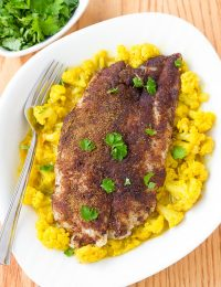 Roasted Indian Fish and Creamy Curried Cauliflower Recipe