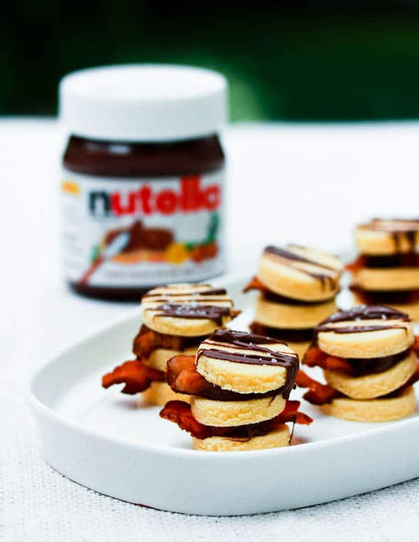 4-Ingredient Bacon and Nutella Napoleons