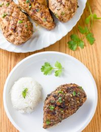 Indian Grilled Chicken #healthy #paleo #glutenfree