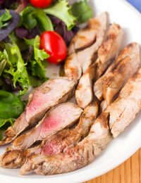 Magic 2-Ingredient Grilled Pork Tenderloin #lowcarb #healthy