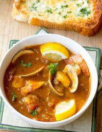 Seafood Cioppino Recipe | ASpicyPerspective.com