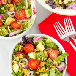 Grilled Corn Salad with Smokey Vinaigrette Recipe
